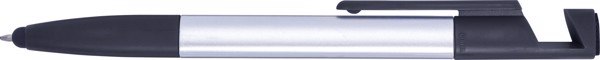 ABS 6-in-1 ballpen - Black / Silver