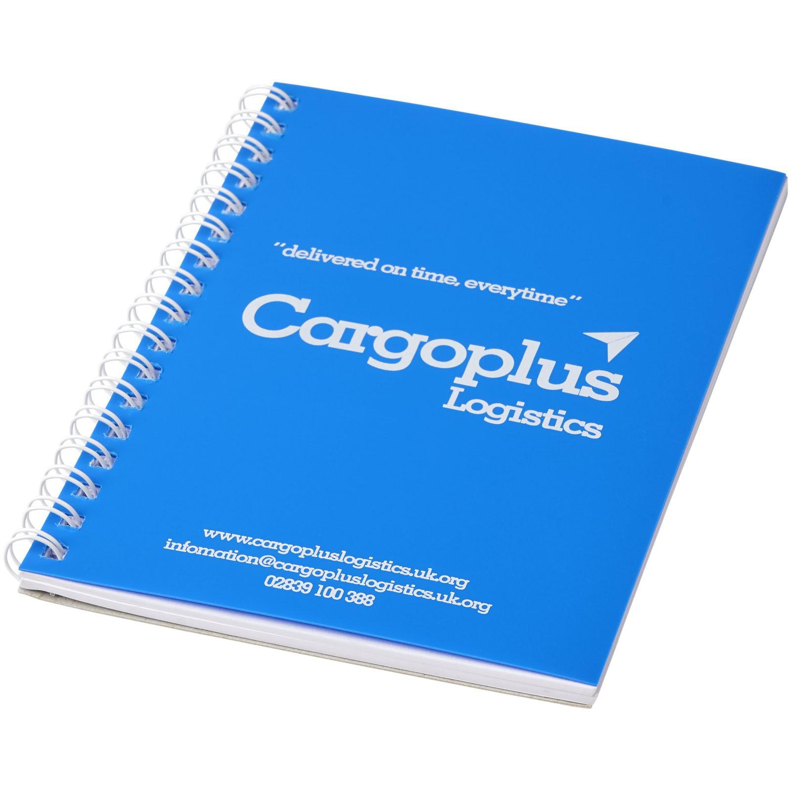 Poznámkový blok Rothko A5 - Modrá / Bílá / 50 pages