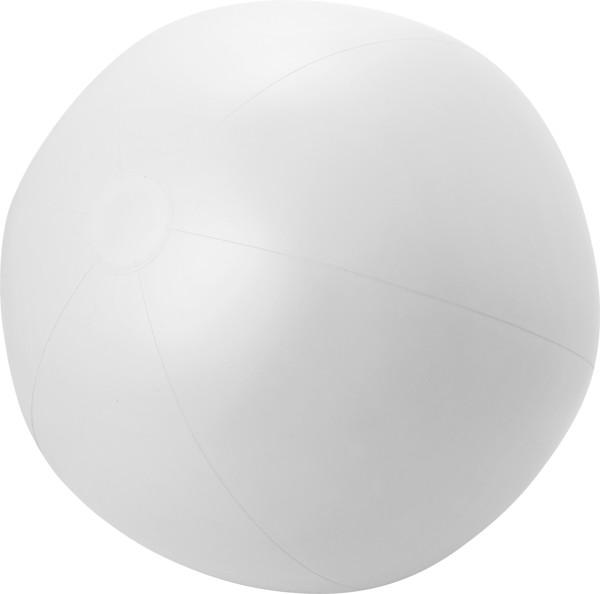 Aufblasbarer Wasserball 'XXL' aus PVC - White