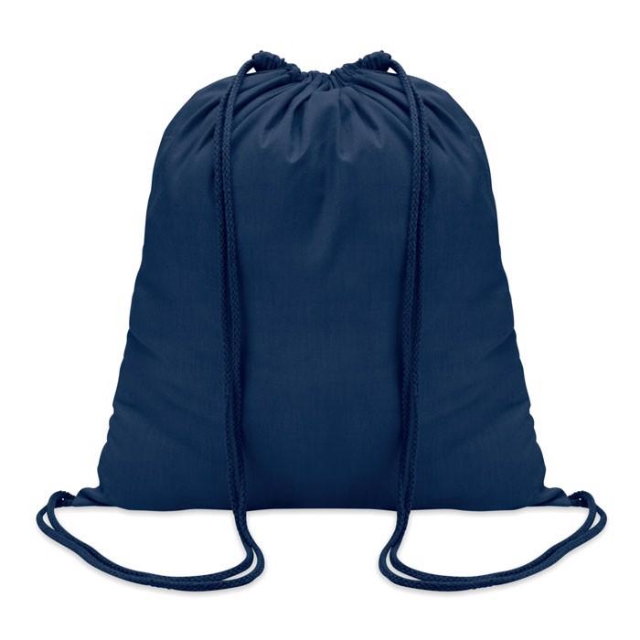 Sacoşă din bumbac 100 gr/m2, c Colored - blue