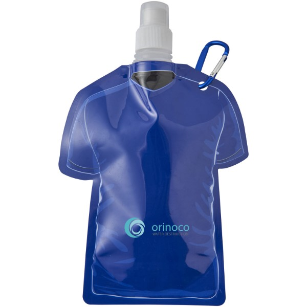 Woreczek na wodę w kształcie koszulki piłkarskiej Goal - Niebieski