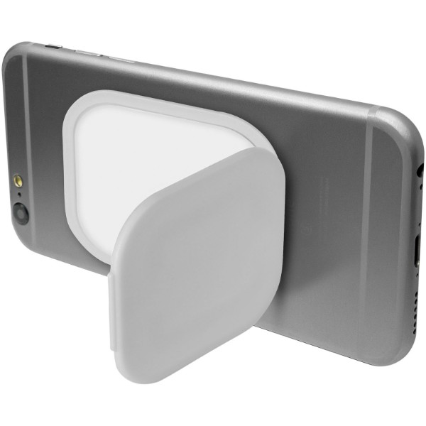 Flection phone stand and holder - White