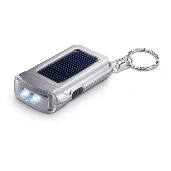 Solar powered torch key ring Ringal