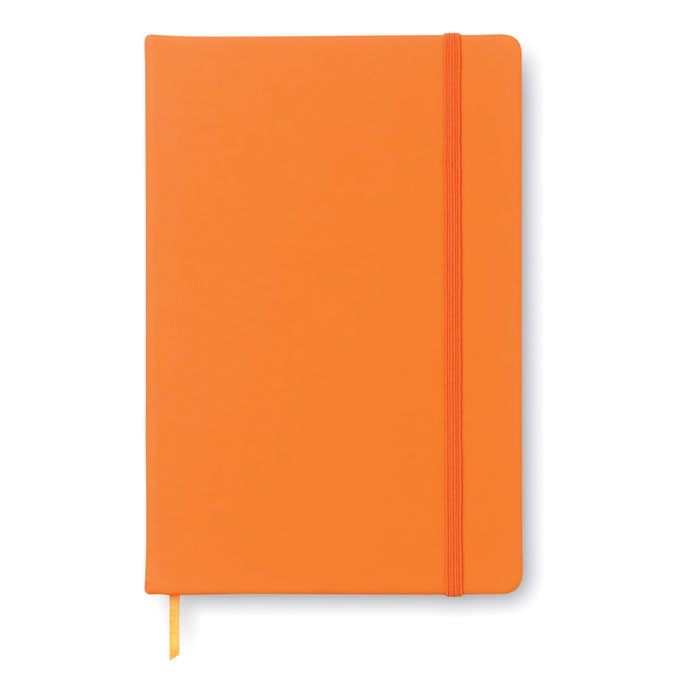 A5 notebook lined Arconot - Orange