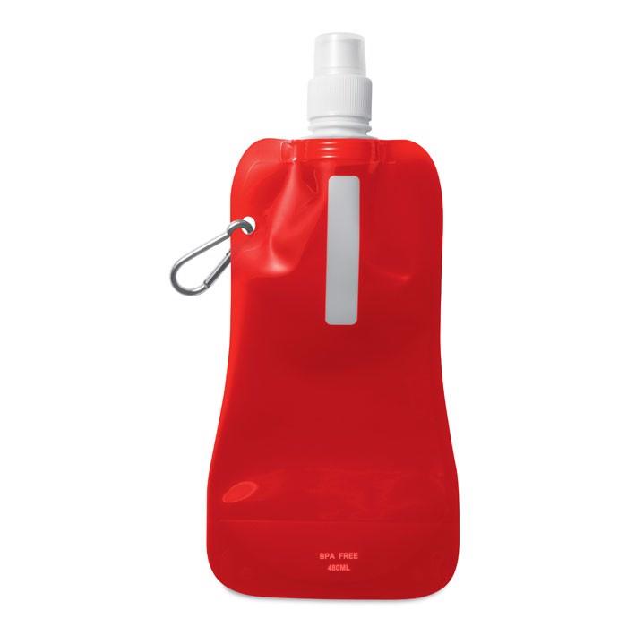 Butelka na wodę. Gates - przezroczysty czerwony