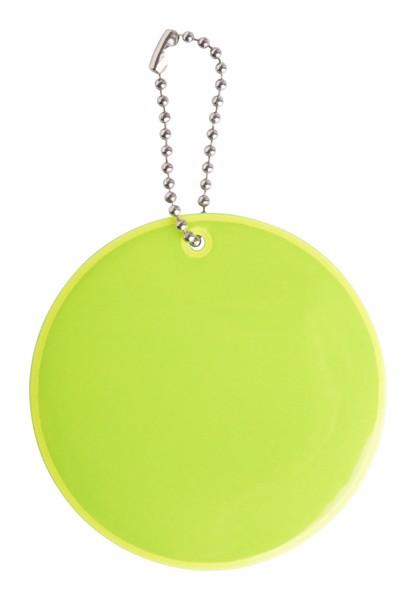 Breloc Reflectorizant Candid - Galben Neon