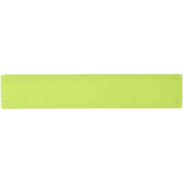 Rothko 20 cm plastic ruler - Lime