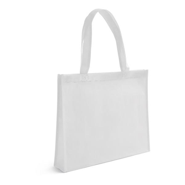 SAVILE. Taška z netkané textilie - Bílá