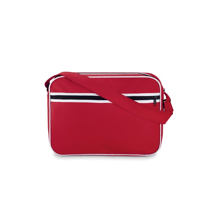 Document bag in 600D polyester Barcelona - Red