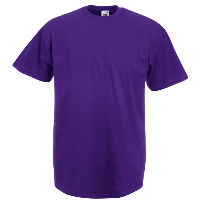 T-shirt 165 g/m² Value Weight T-Shirt 61-036-0 - Purple / L