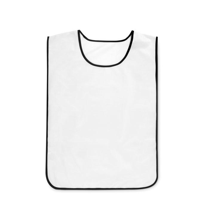 Polyester sports vest Play Vest - White