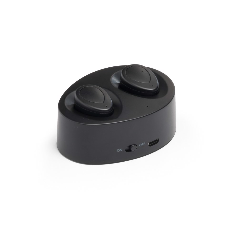 CHARGAFF. Ασύρματα ακουστικά - Μαύρο
