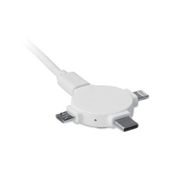 Nabíjecí kabel 3 v 1 Ligo Cable