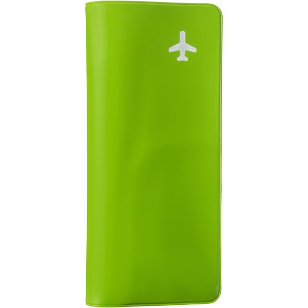 Voyageur travel wallet - Apple green