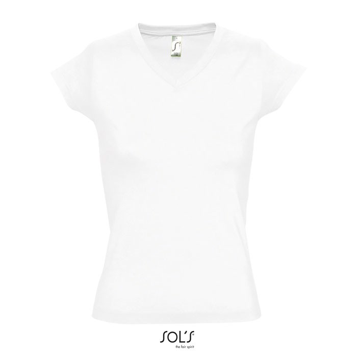 MOON CAMISETA MUJER 150g - Blanco / XL