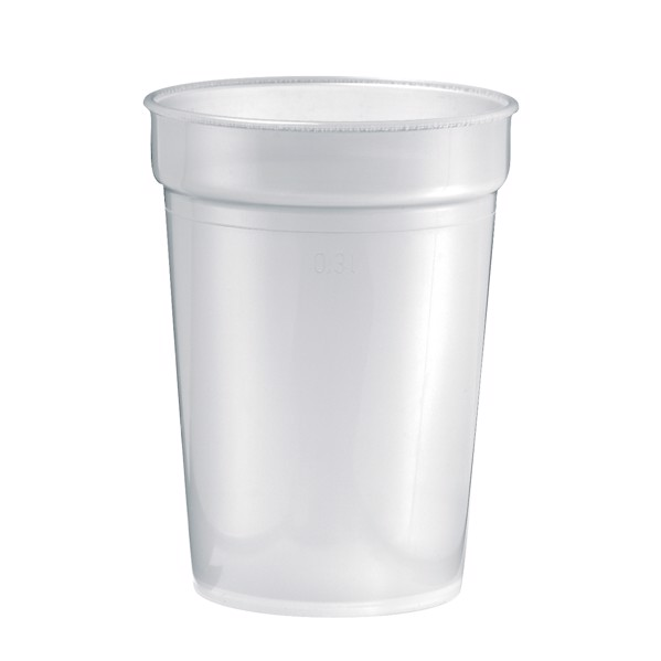 "Drinking Cup ""Deposit"" 0.3 L - White"