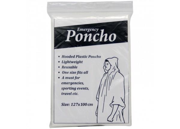 Poncho - Transparent White