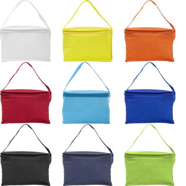 Nonwoven (80 gr/m²) cooler bag - Light Green