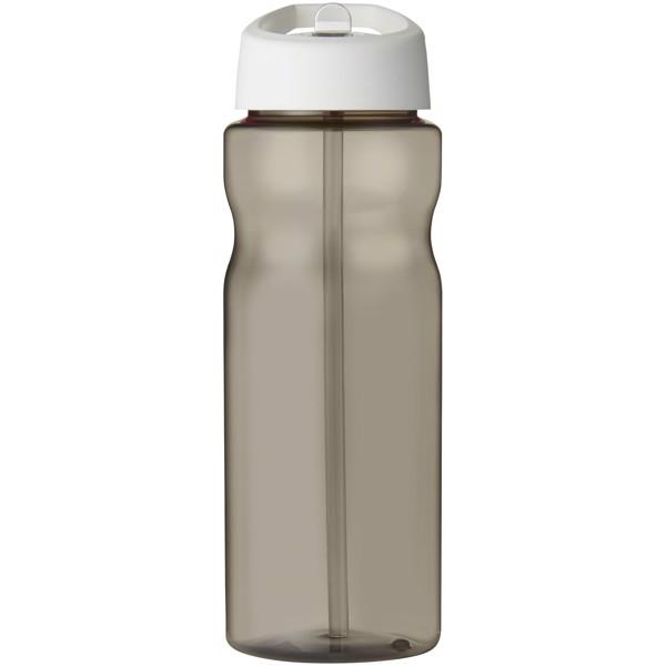 H2O Eco Bidón deportivo con boquilla de 650ml - Carbón / Blanco
