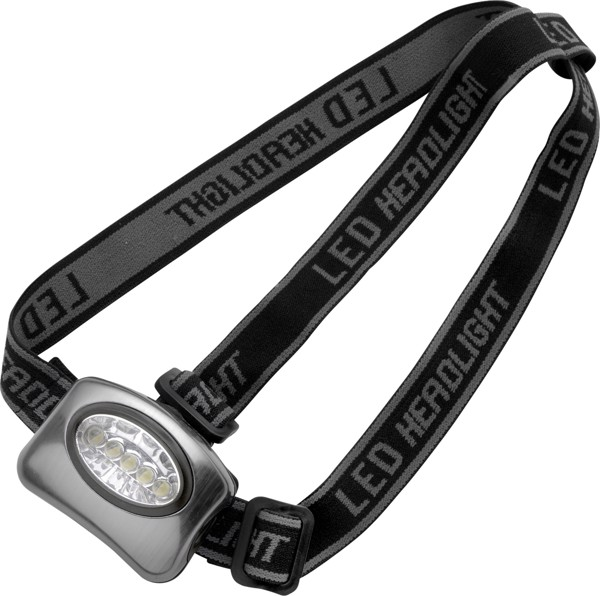 Aluminium head torch - Silver