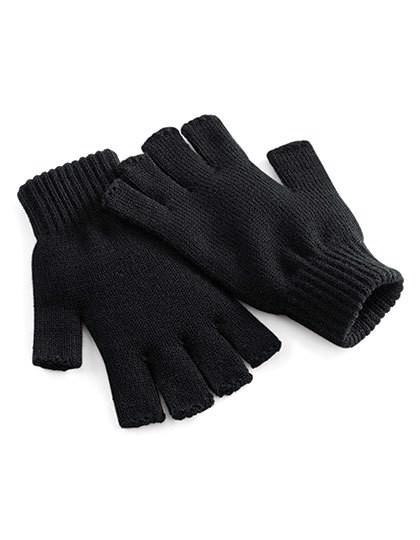 Fingerless Gloves - Black / L/XL