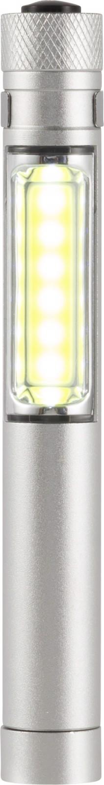 Aluminium torch - Silver