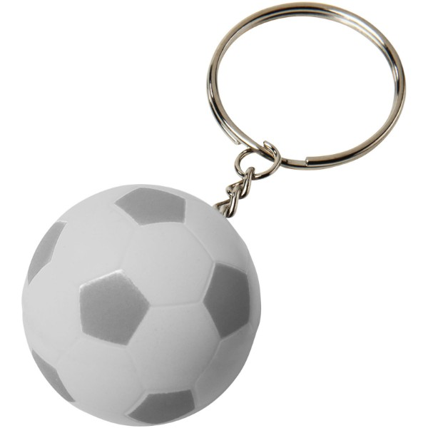 Striker football keychain