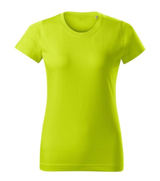 T-shirt women's Malfini Basic Free - Lime Punch / S
