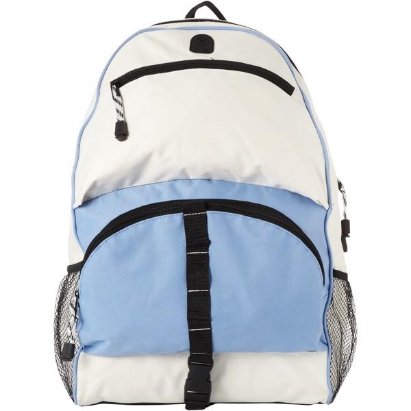 Batoh Utah - Světle modrá / Krémově bílá