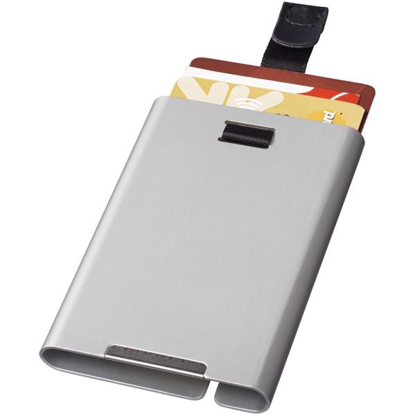 Pilot RFID Card Slider - Stříbrný
