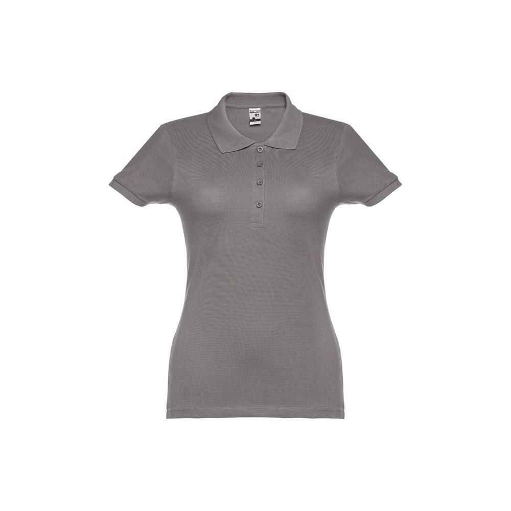EVE. Γυναικεία πόλο μπλούζα - Γκρί / XXL