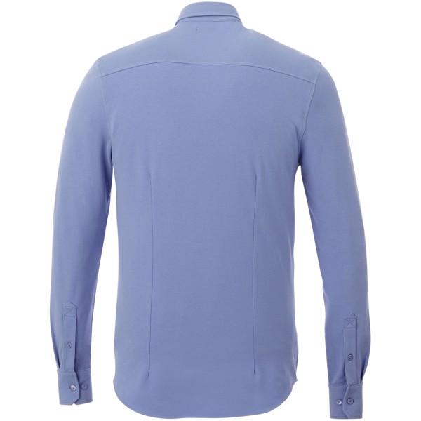 Pánská košile Bigelow s dlouhým rukávem - Světle modrá / XS