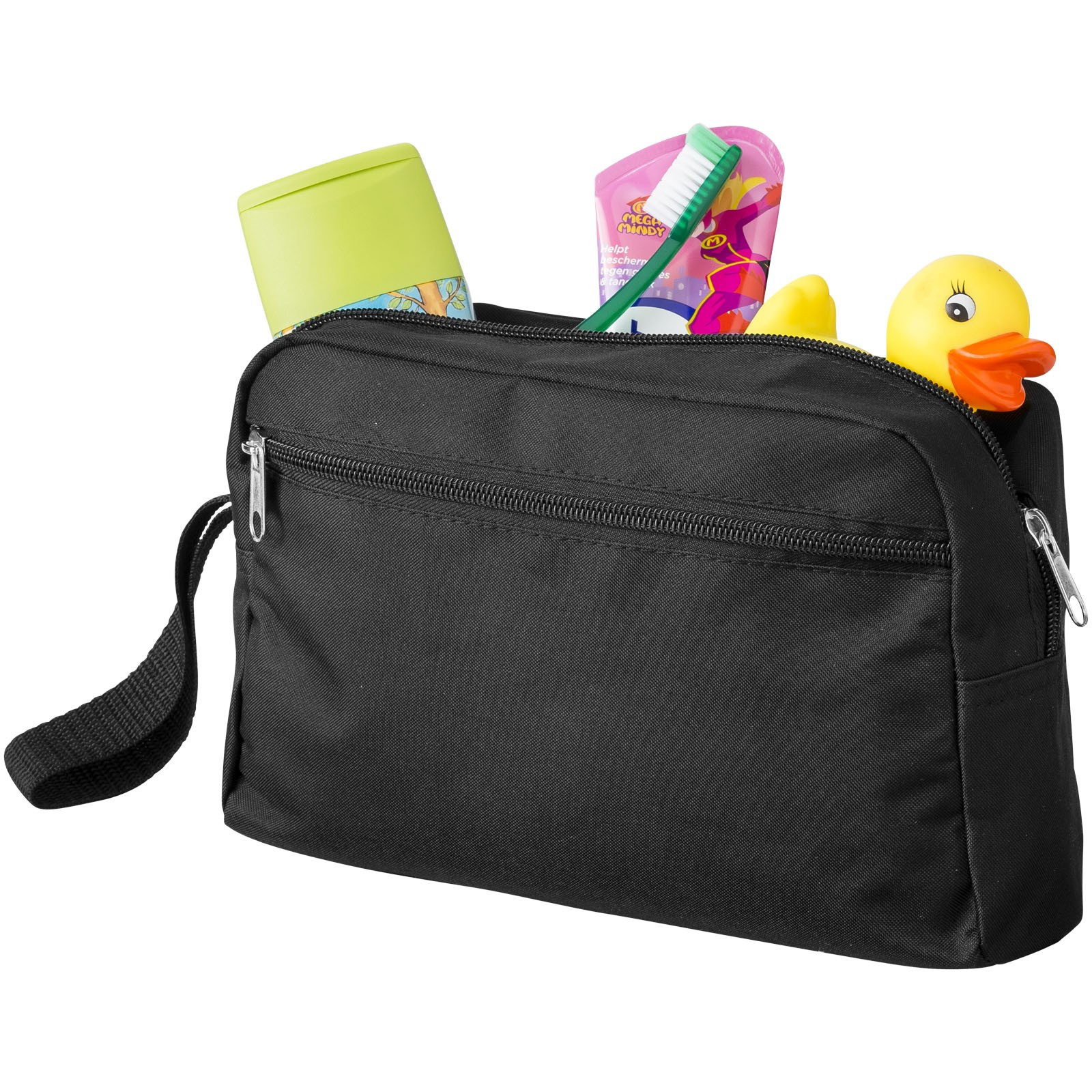 Transit toiletry bag - Solid black