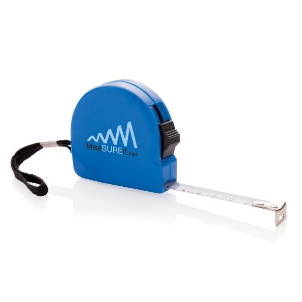 ABS svinovací metr - 3 m - Modrá