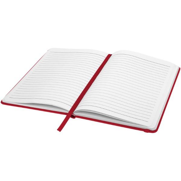 Zápisník s pevnou obálkou A5 Spectrum - Červená s efektem námrazy