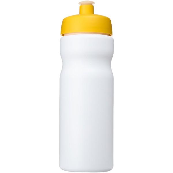 Baseline® Plus 650 ml sport bottle - White / Yellow