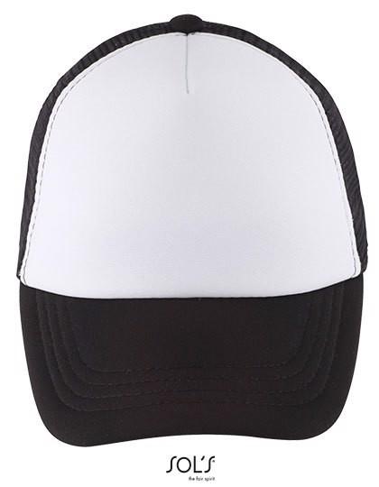 Bubble Kids Cap - White / Black / One Size