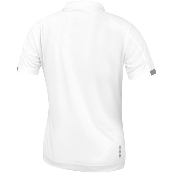 Kiso short sleeve women's cool fit polo - White / XS