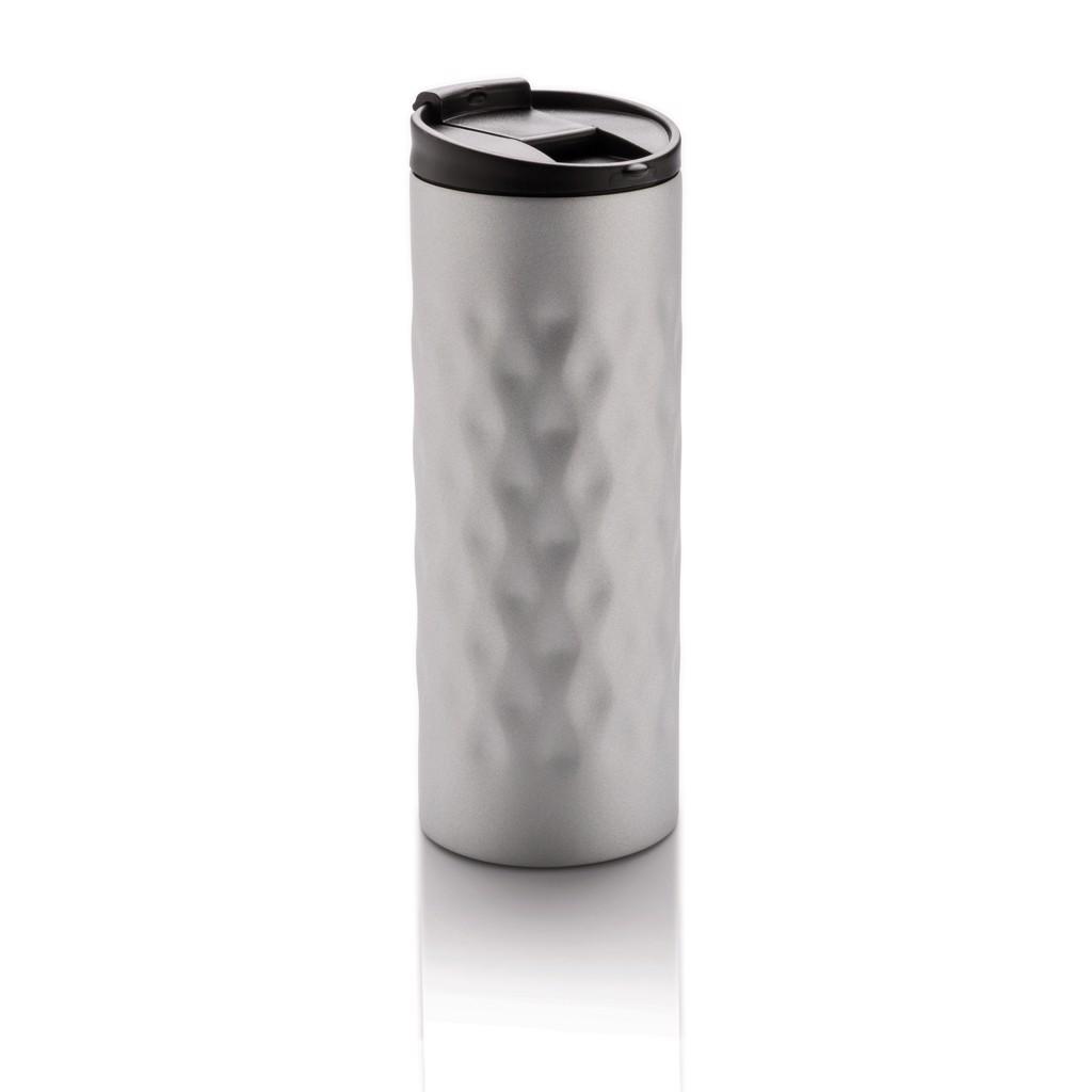 Geometrikus ivópohár - Ezüst Színű