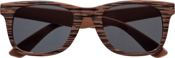 Sonnenbrille 'Aviator' aus Kunststoff - Dark Brown