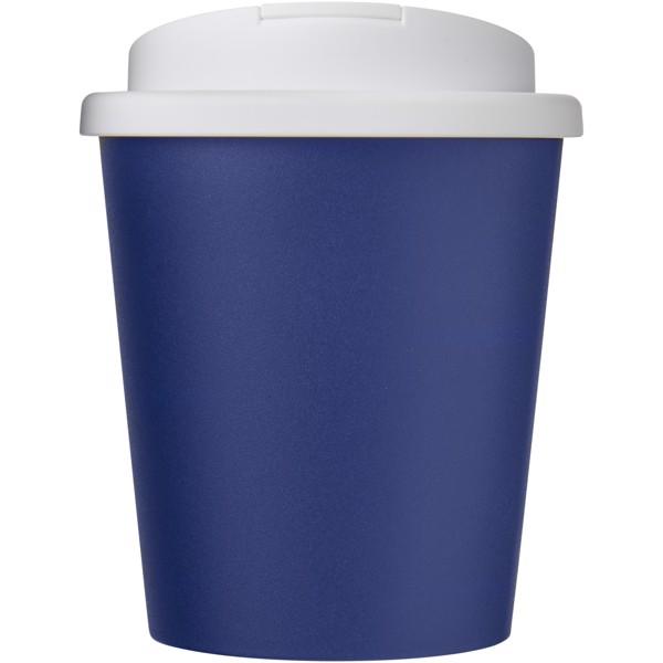 Americano Espresso® vaso 250 ml con tapa antigoteo - Azul / Blanco