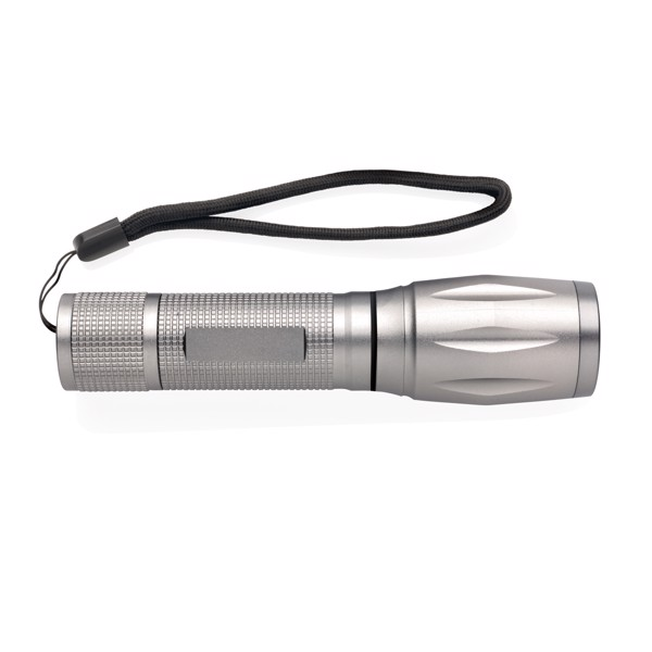 10W CREE LED svítilna s COB světlem - Šedá
