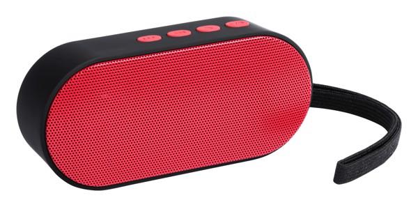 Bluetooth Reproduktor Helber - Červená / Černá