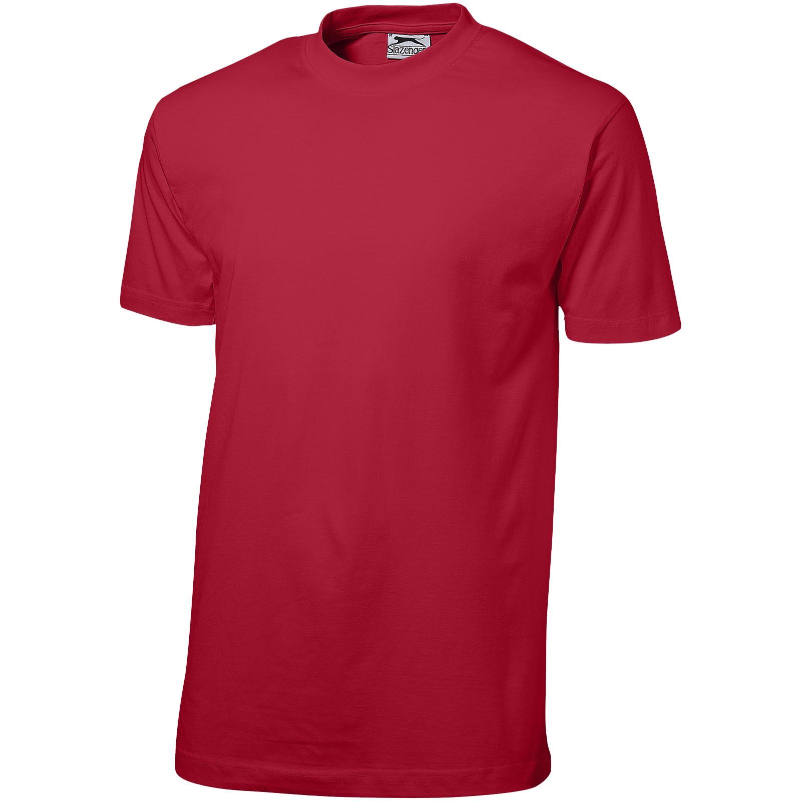 Ace short sleeve men's t-shirt - Dark red / L
