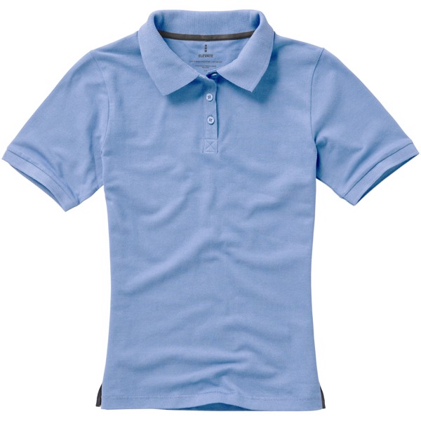 Calgary short sleeve women's polo - Light blue / XL