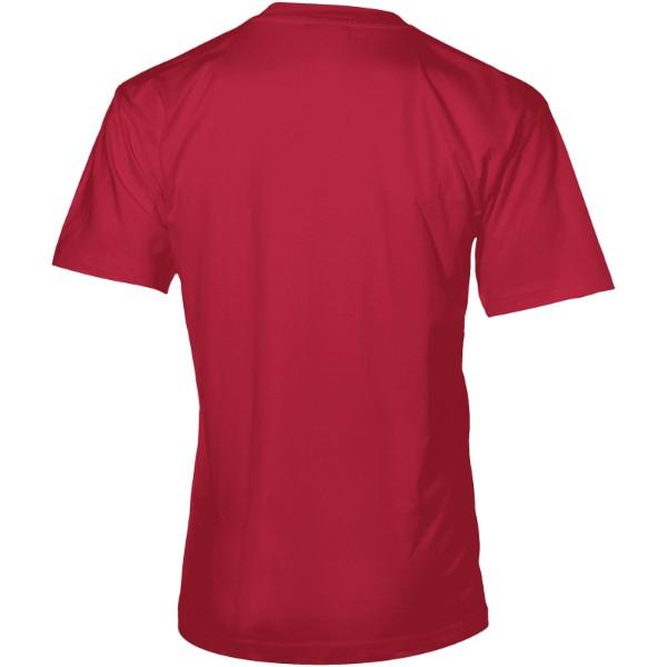 Return Ace short sleeve unisex t-shirt - Dark Red / L