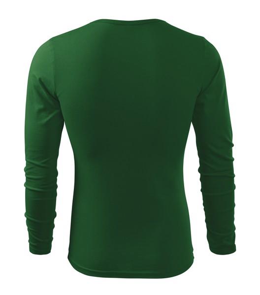 T-shirt men's Malfini Fit-T LS - Bottle Green / XL