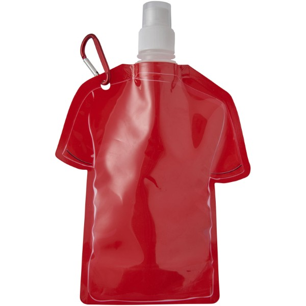 Goal 500 ml football jersey water bag - Red