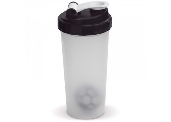 Shaker 600ml - Transparent Black
