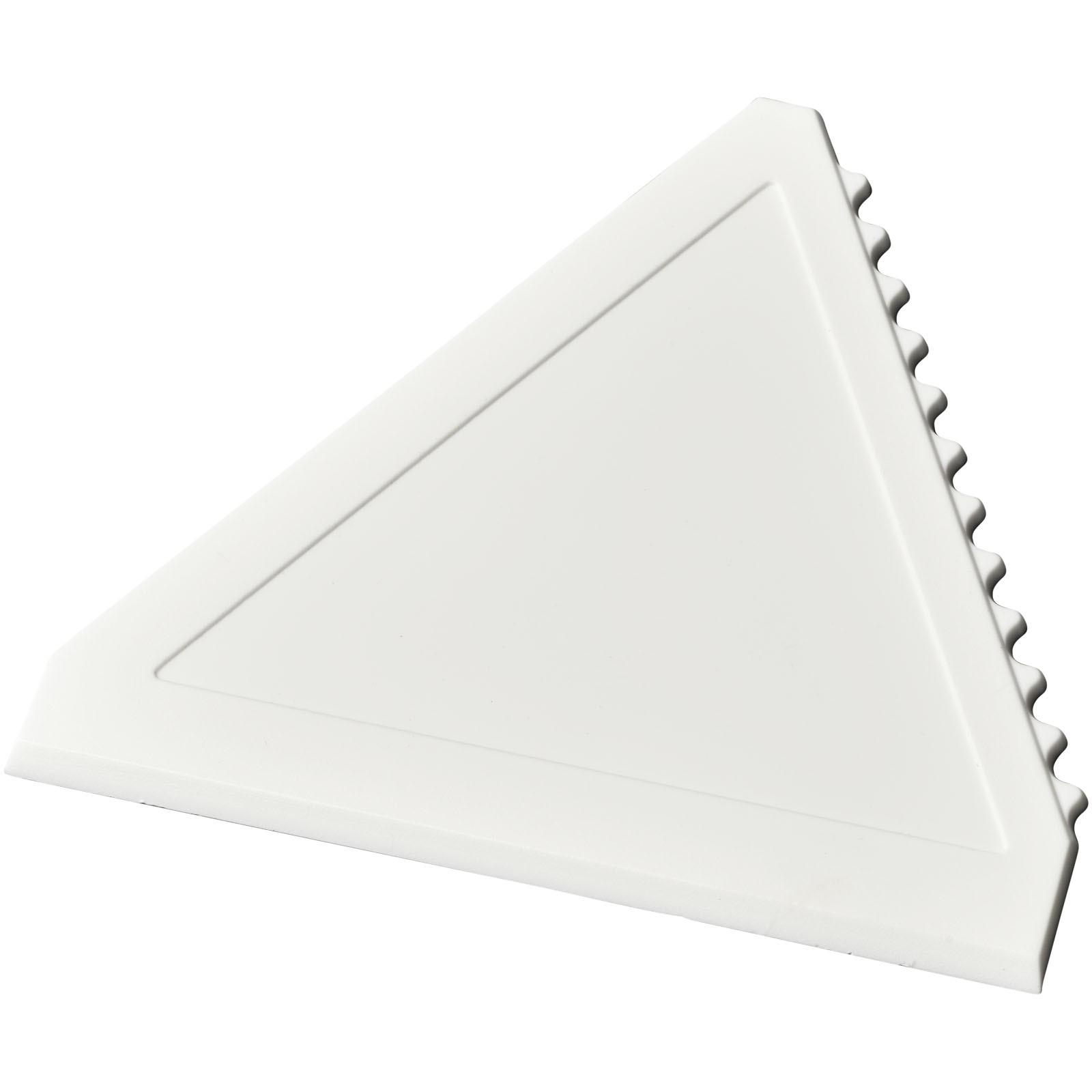 Averall dreieckiger Eiskratzer - Weiss